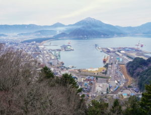天筒山展望台からの敦賀湾フリー写真